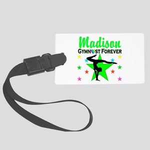 GYMNAST FOREVER Large Luggage Tag