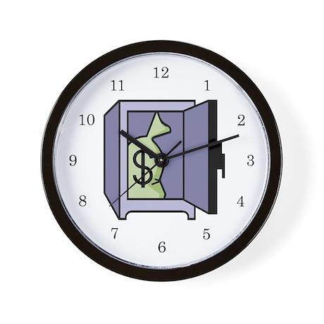 Banker Wall Clock