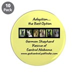 "3.5"" Button (10 pack) Adoption Option"
