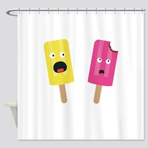 Colorful Popsicles Shower Curtain