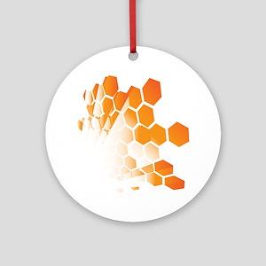 Honeycomb Round Ornament