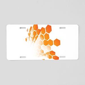 Honeycomb Aluminum License Plate