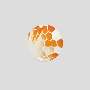 Honeycomb Mini Button