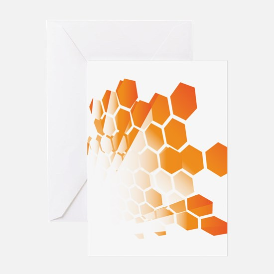 Honeycomb Greeting Cards