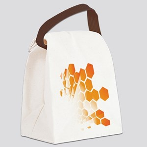 Honeycomb Canvas Lunch Bag