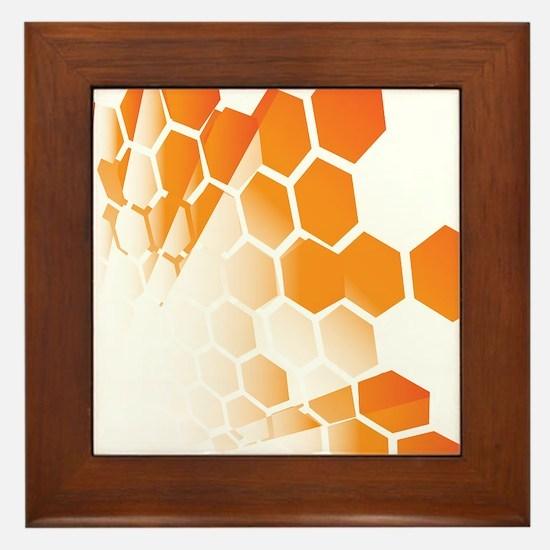 Honeycomb Framed Tile