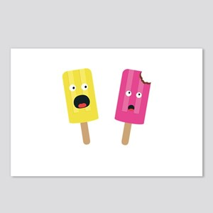 Colorful Popsicles Postcards (Package of 8)