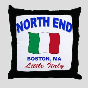 North End Boston,MA Throw Pillow