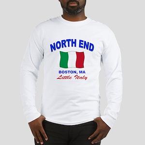 North End Boston,MA Long Sleeve T-Shirt