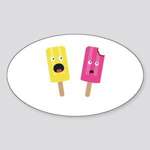 Colorful Popsicles Sticker