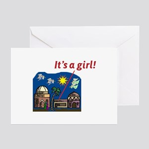 It's a Girl! - Greeting Cards