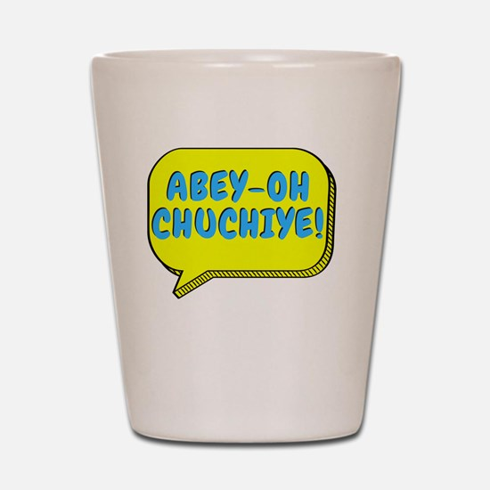 Funny Excited Shot Glass