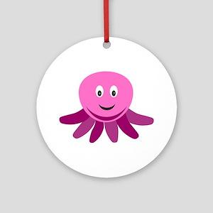 JellyFish Round Ornament