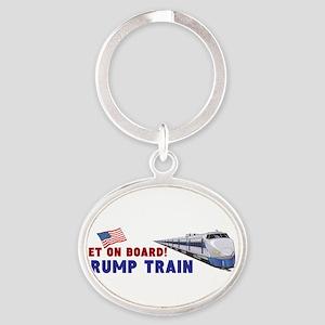 Trump Train Keychains