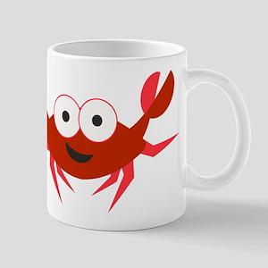 Happy Crab Mugs
