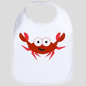 Happy Crab Bib