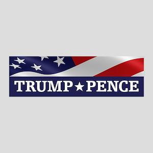 Trump Pence Wall Decal