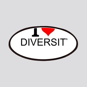 I Love Diversity Patch