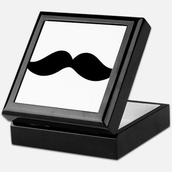 Moustache Keepsake Box