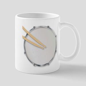 Drumskin and Sticks Mugs