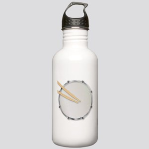 Drumskin and Sticks Stainless Water Bottle 1.0L