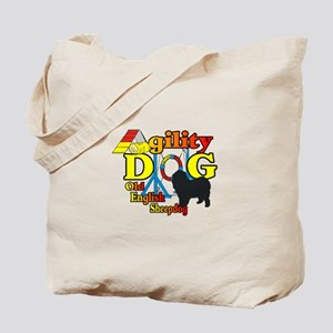 Old English Sheepdog Agility Tote Bag