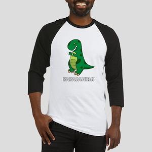 Papasaurus Baseball Jersey