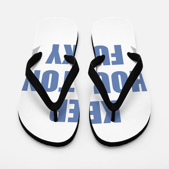 KEEP HOUSTON FUNKY Flip Flops