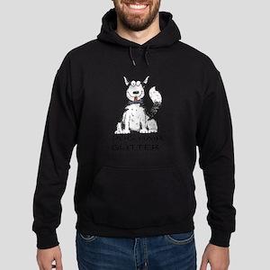 Dog Hair is My Glitter Sweatshirt