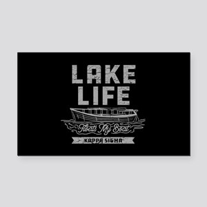 Kappa Sigma Lake Rectangle Car Magnet