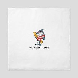 U.S. Virgin Islands Queen Duvet