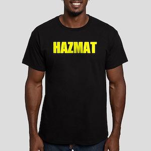 HAZMAT Yellow Front Women's Dark T-Shirt
