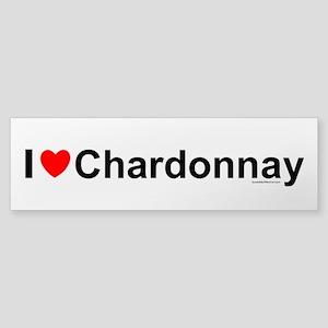 Chardonnay Sticker (Bumper)