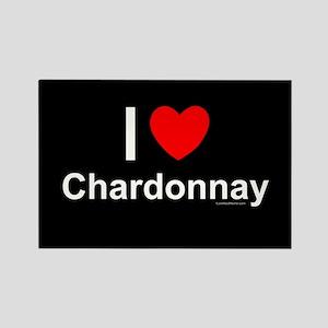 Chardonnay Rectangle Magnet
