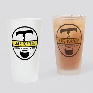 Cafe Portage Drinking Glass