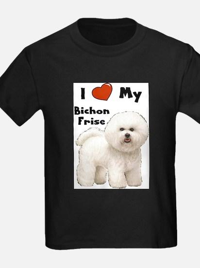 I Love My Bichon Frise T-Shirt