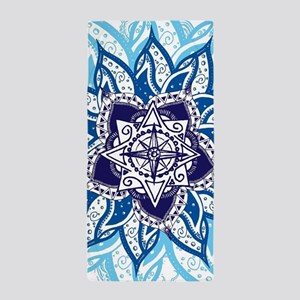 Atlantean Voyage Blue Beach Towel
