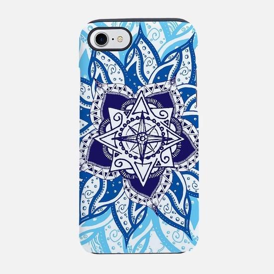 Atlantean Voyage Blue iPhone 8/7 Tough Case