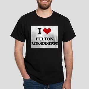 I love Fulton Mississippi T-Shirt