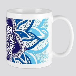 Atlantean Voyage Blue Mugs