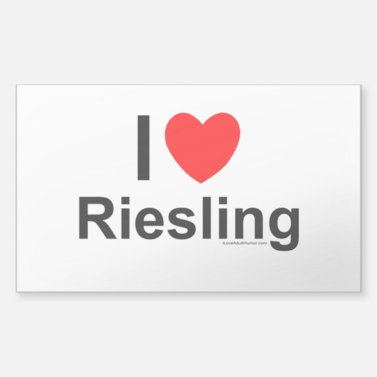 Riesling Sticker (Rectangle)