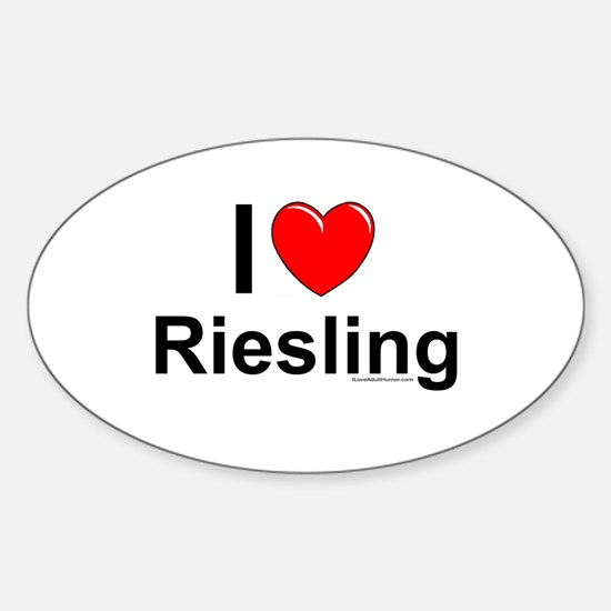 Riesling Sticker (Oval)