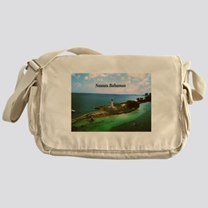 Nassau lighthouse Messenger Bag