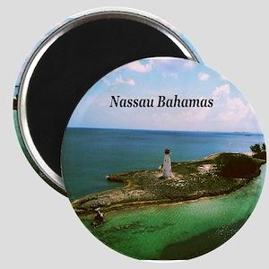 Nassau lighthouse Magnet