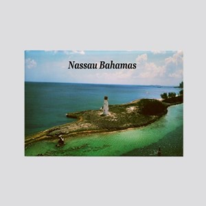 Nassau lighthouse Rectangle Magnet