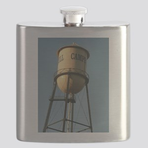 Campbell water tower Campbell California Flask