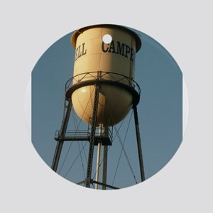 Campbell water tower Campbell Calif Round Ornament