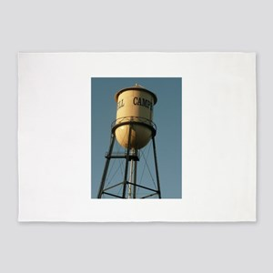 Campbell water tower Campbell Calif 5'x7'Area Rug