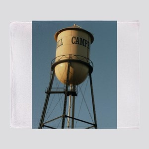 Campbell water tower Campbell Califo Throw Blanket