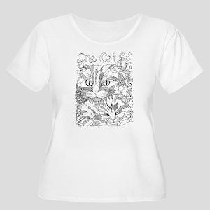 One cat- Hemingway Plus Size T-Shirt